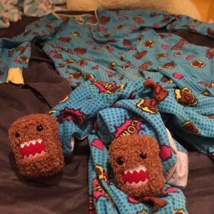 Domo Fleece Footie Pajamas
